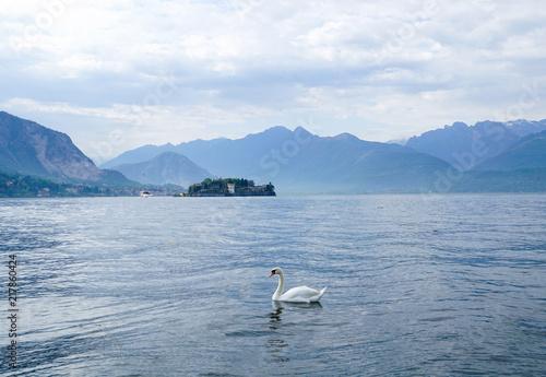 Look to  the Island of Bella, Lake Maggiore ,Italy