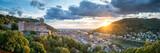 Heidelberg Panorama mit Schloss und Altstadt