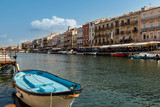 Boats in the harbour of Sete, France