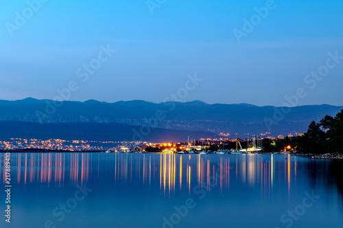 Port statków na Morzu Adriatyckim