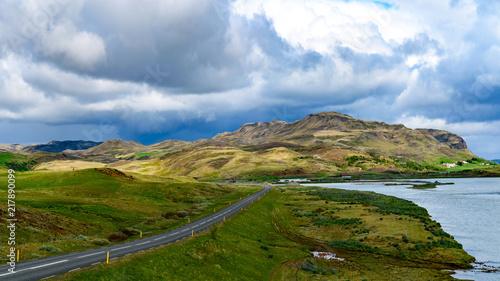 Sticker landscapes of Iceland