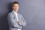 Mature businessman portrait - 217929600