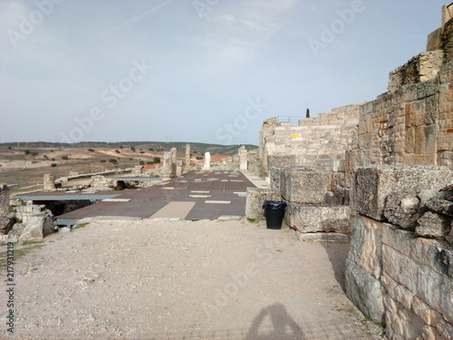 Poster Ruinas romanas de Segóbriga