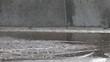 skateboard through water