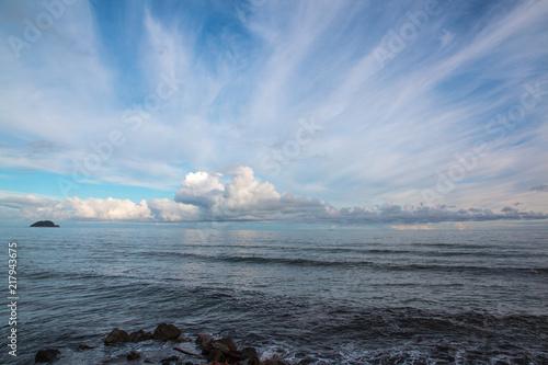 In de dag Liguria Gallinara island, italy