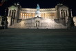 Night at Monumento a Vittorio Emanuele II in Rome, Italy