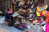 Street Shoe Store in Hong Kong - 217952087