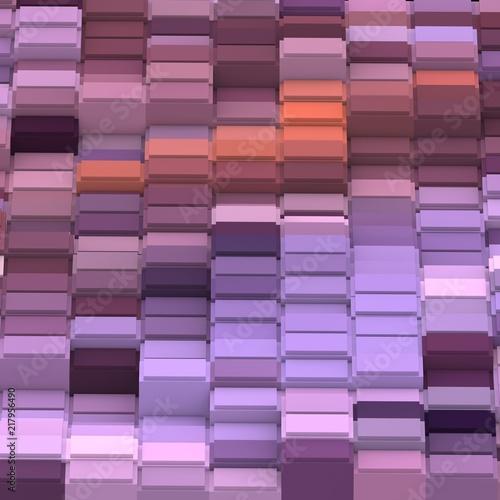 fioletowa-mozaika-3d