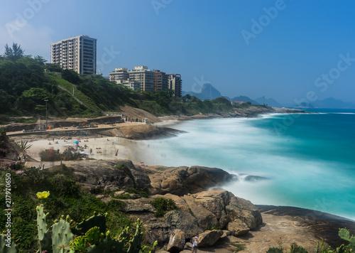 Plexiglas Rio de Janeiro Copacabana Beach Rio de Janeiro Brazil