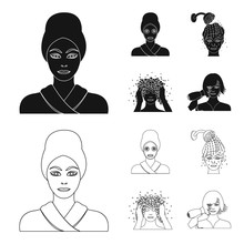 Hands Hygiene Cosmetology And Other Web Icon In Blackoutline Stylebath Clothes Means Icons In Set  Sticker