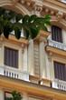 Quadro Napoli i quattro palazzi al rettifilo
