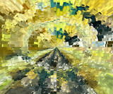 Abstract painting. Graphic arts. Abstraction and Art