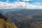 Sonche canyon near the city of Chachapoyas Peru