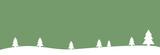 Breiter grüner Weihnachtshintergrund