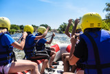 rafting on the river is extreme sports