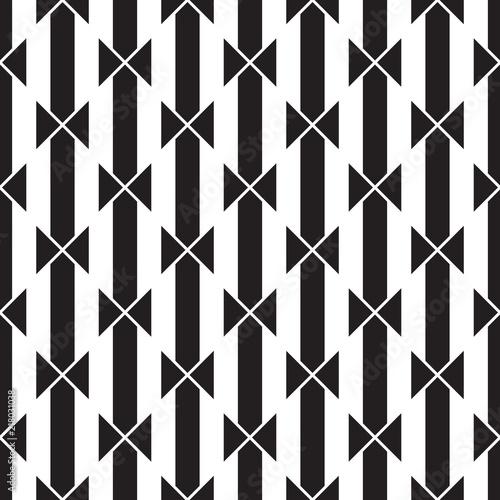 seamless monochrome striped geometric pattern.