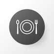 Restaurant icon symbol. Premium quality isolated eating element in trendy style.