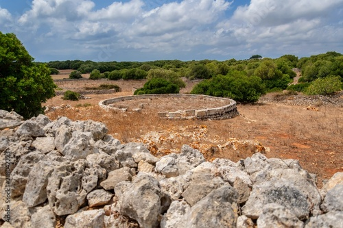 menorca countryside, balearic islands, spain