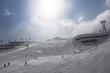 Quadro Beatifull slope in the Alps