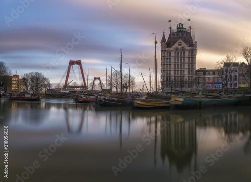 Canvas Rotterdam Old Harbour Rotterdam