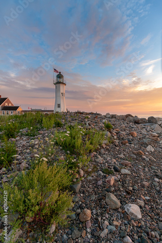 Aluminium Vuurtoren Old Scituate lighthouse