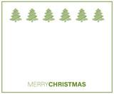 Merry Christmas - Weihnachtskarte mit Freiraum