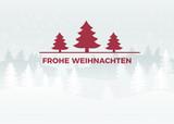 Winterlandschaft Frohe Weihnachten