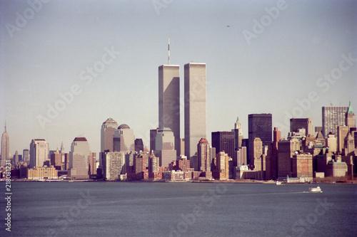 Naklejka 1993, New York et son world trade center