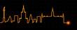Warsaw Light Streak Skyline - 218082663