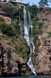 Sea waterfall in Antalya - 218085226