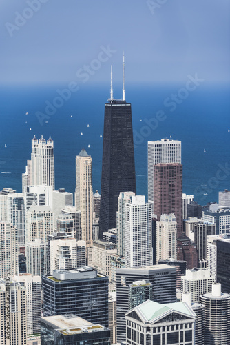 Foto Murales Chicago Skyline from the top of Willis Tower