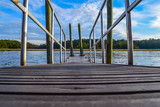 Down the dock