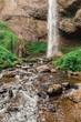 Latourell Falls waterfall along the Columbia River Gorge - 218116498