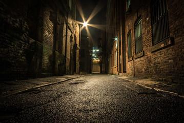 Dark Alley at night © Simon Nettleship