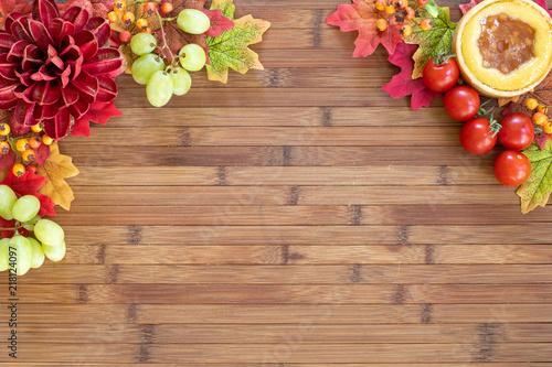 Foto Murales Fall background