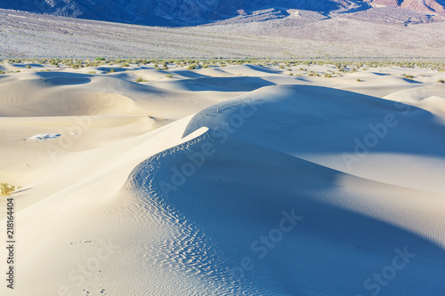 Foto Spatwand Galyna A. Sand dunes in California
