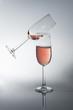 dwa kieliszki wina