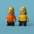 Cartoon character - 3D Illustration