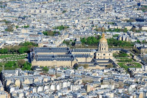 Sticker Paris von oben