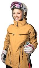 Female skier © BillionPhotos.com