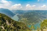 River canyon high angle view