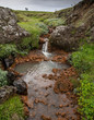 Stream into Skjaifandafiyot River, Iceland - 218207892