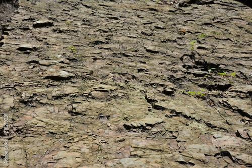 In de dag Stenen A great wall of rocks in the Carpathians