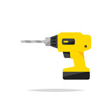 Drill vector isolated - 218211070