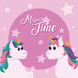 Magical time card - 218214498