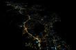 Luzes da cidade de Búzios à noite - 218215694