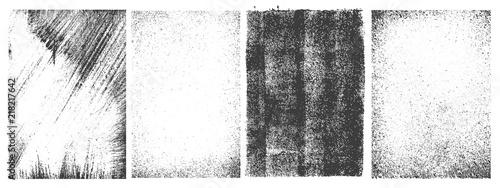 Set of grunge patterns