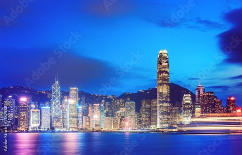 Hong Kong Victoria Harbor view