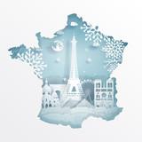 17.7.2018 paris map winter