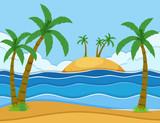 A beautiful summer scene - 218363050
